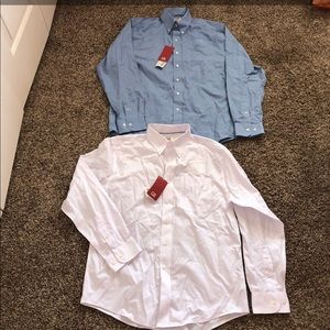 2 New Button Down Shirts